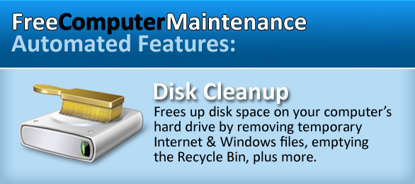 Disk Clean Up - Free Computer Maintenance