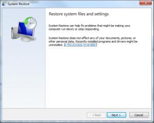 System Restore USB