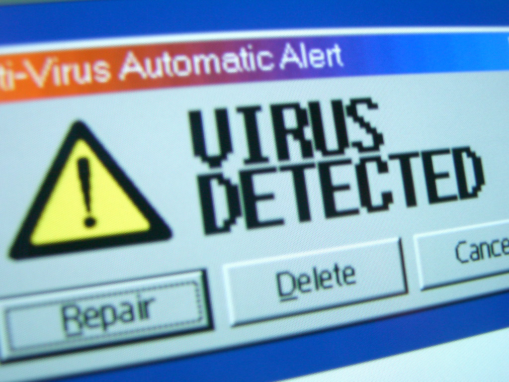 perform regular virus scans of your computer