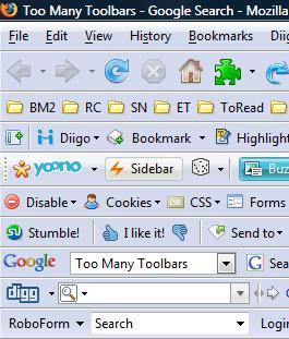 Useful Firefox toolbars