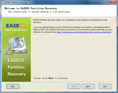 Windows Partition Recovery tools