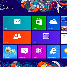 Windows 8 user interface